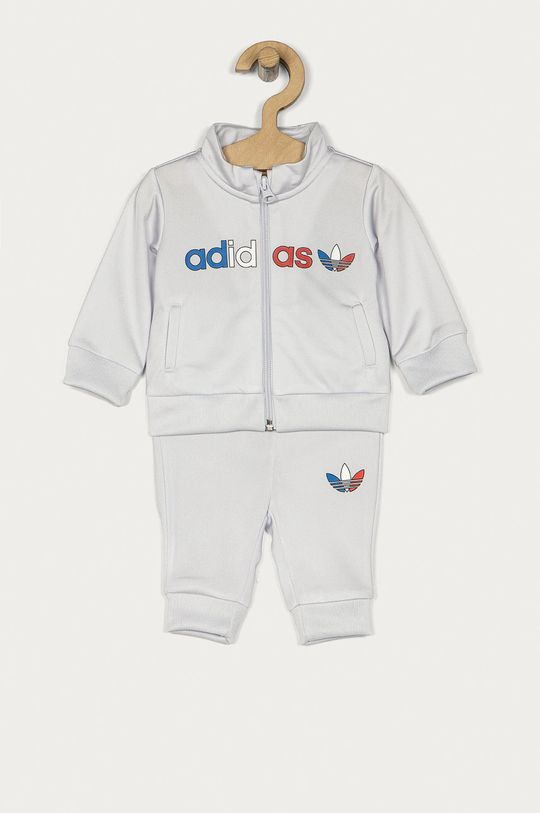 jasny szary adidas Originals - Dres dziecięcy 62-104 cm Dziecięcy