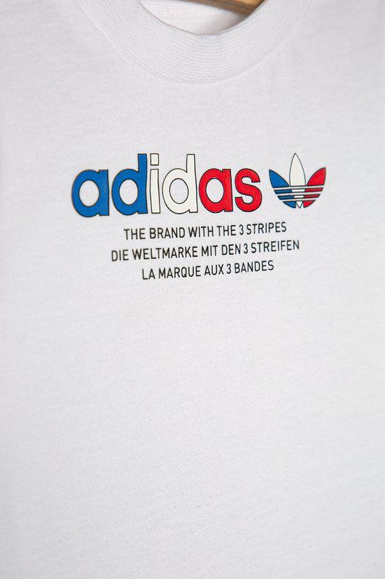 biały adidas Originals - Komplet dziecięcy 62-104 cm Dziecięcy