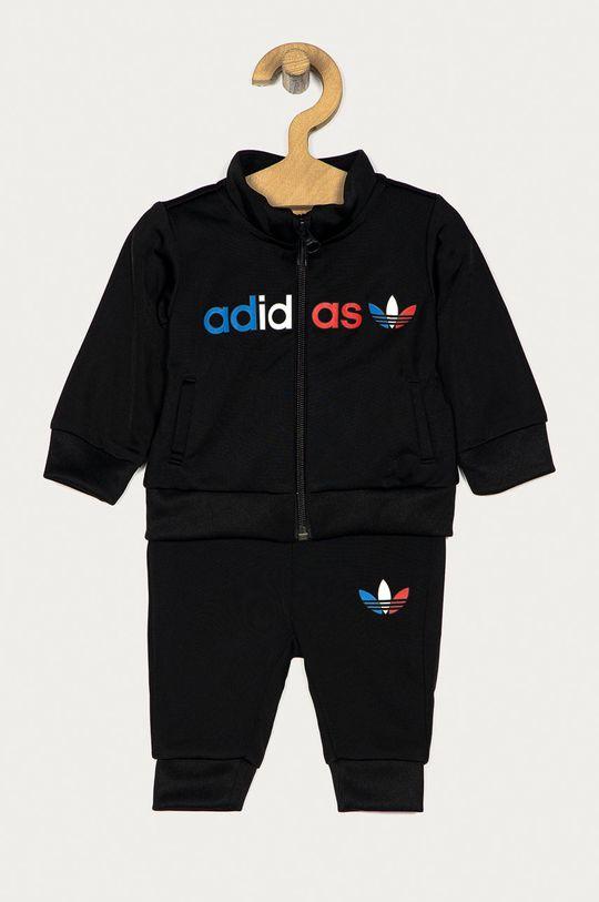 černá adidas Originals - Dětská tepláková souprava 62-104 cm Dětský