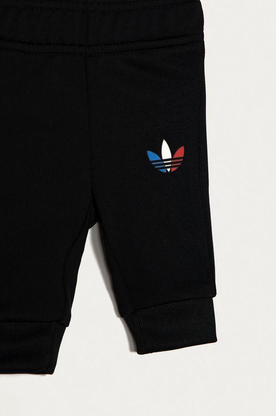 černá adidas Originals - Dětská tepláková souprava 62-104 cm