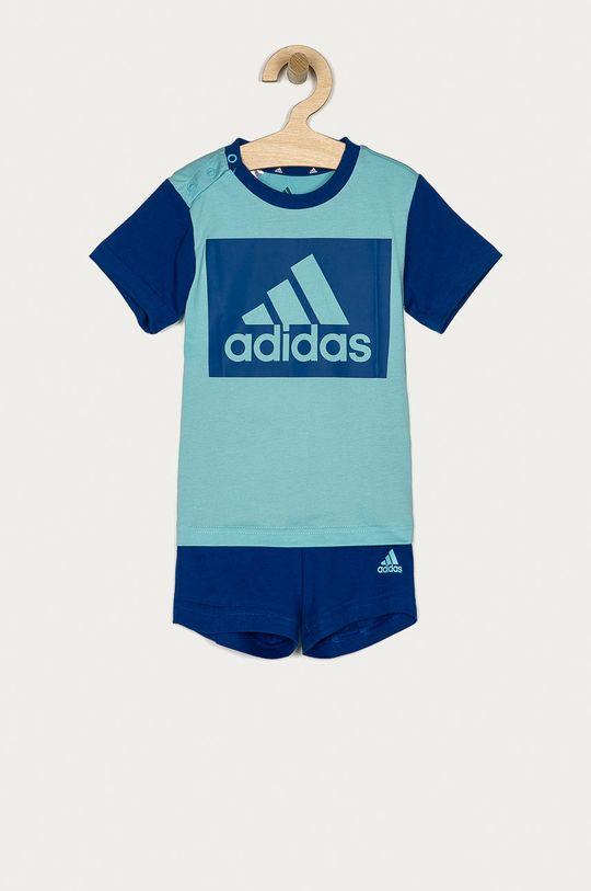 niebieski adidas - Komplet dziecięcy 62-104 cm Dziecięcy