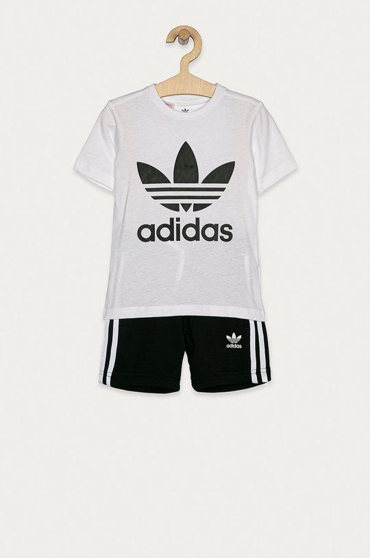 biela adidas Originals - Detská súprava 104-128 cm Detský