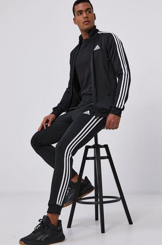 černá adidas - Tepláková souprava Pánský