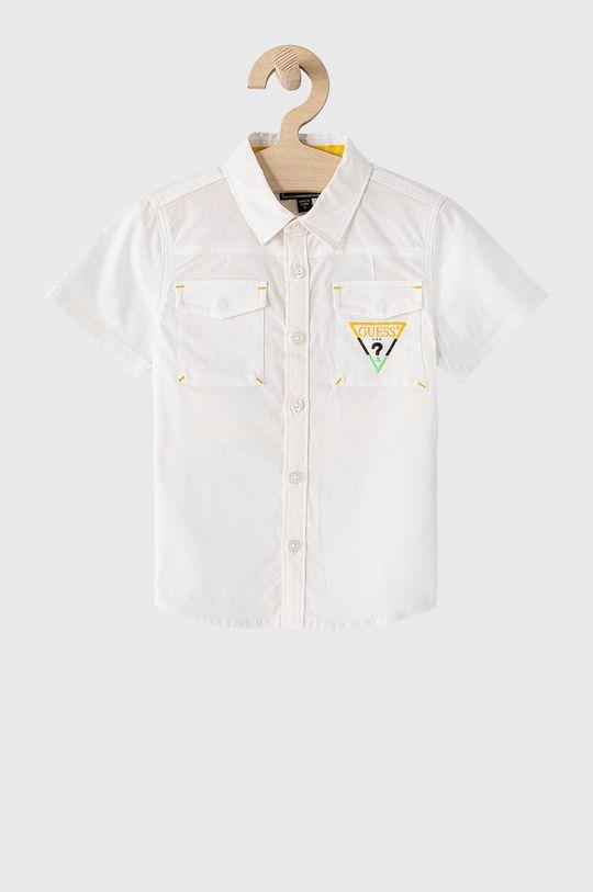 biela Guess - Detská košeľa 92-122 cm Chlapčenský