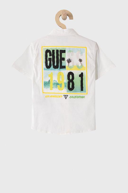 Guess - Detská košeľa 92-122 cm biela