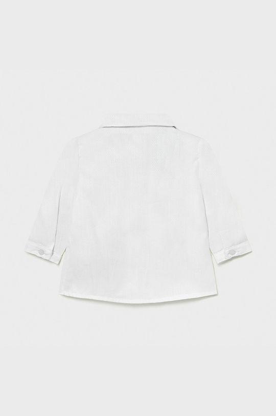 Mayoral Newborn - Bavlnená košeľa 60-86 cm biela