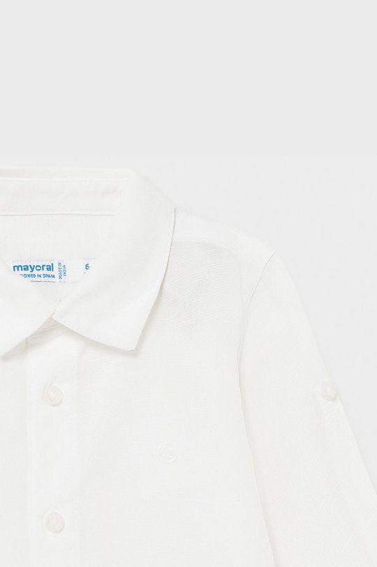 Mayoral - Koszula dziecięca 63 % Bawełna, 37 % Len
