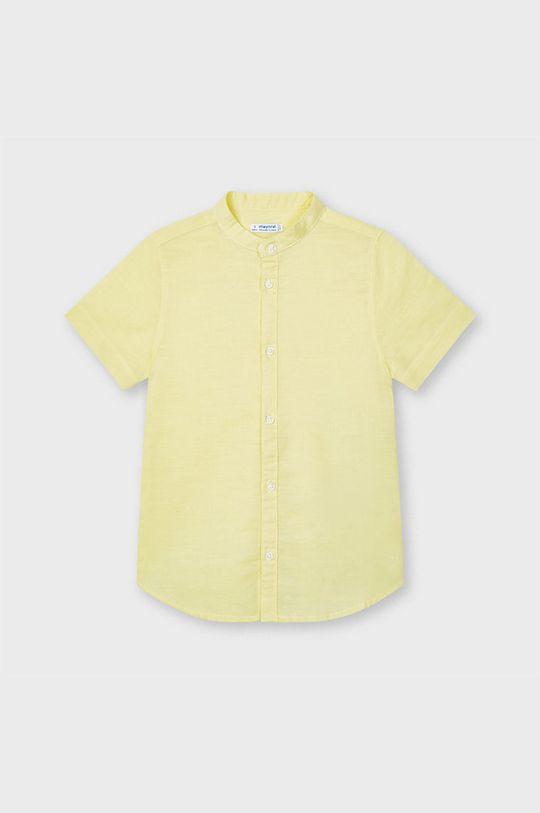 svetlobéžová Mayoral - Detská košeľa Chlapčenský