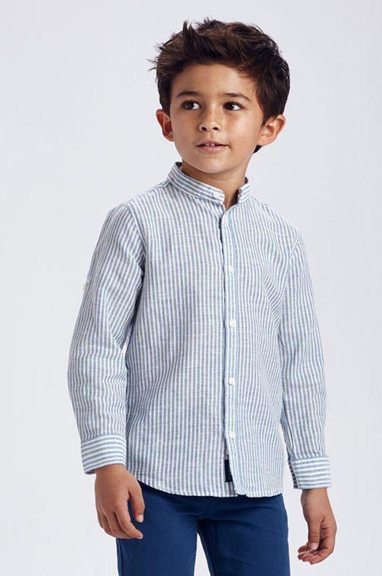 jasny niebieski Mayoral - Koszula dziecięca 92-134 cm Chłopięcy