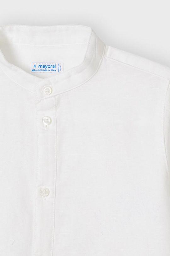 Mayoral - Koszula dziecięca 62 % Bawełna, 38 % Len