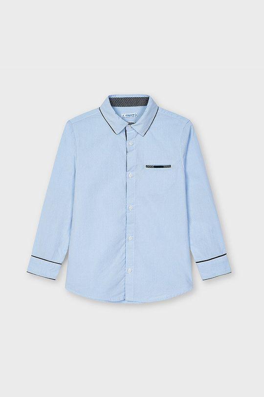 Mayoral - Koszula dziecięca jasny niebieski