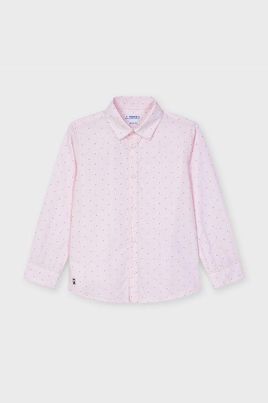 pastelová ružová Mayoral - Detská košeľa Chlapčenský
