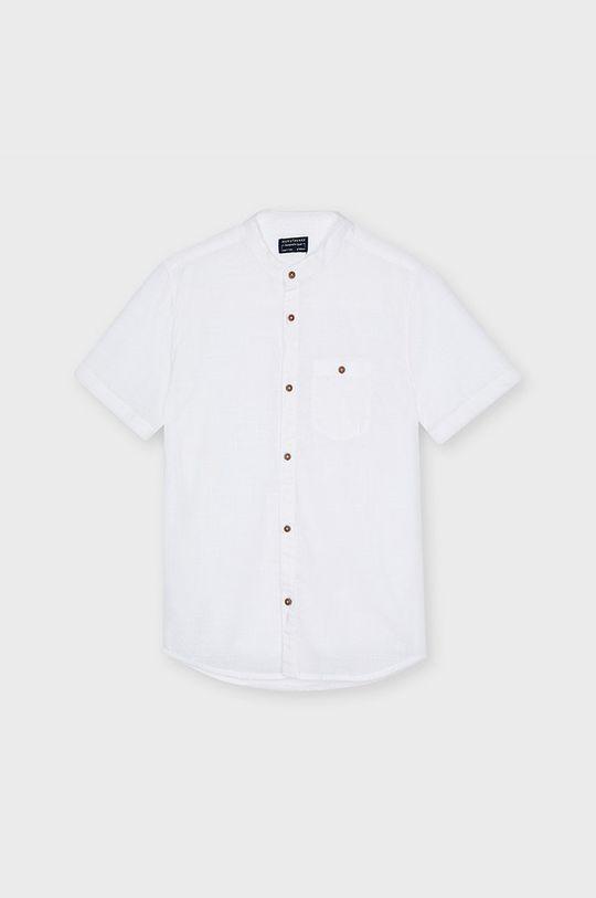biela Mayoral - Detská košeľa 128-172 cm Chlapčenský