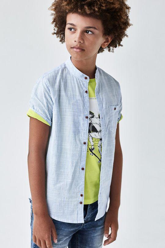 jasny niebieski Mayoral - Koszula dziecięca 128-172 cm Chłopięcy