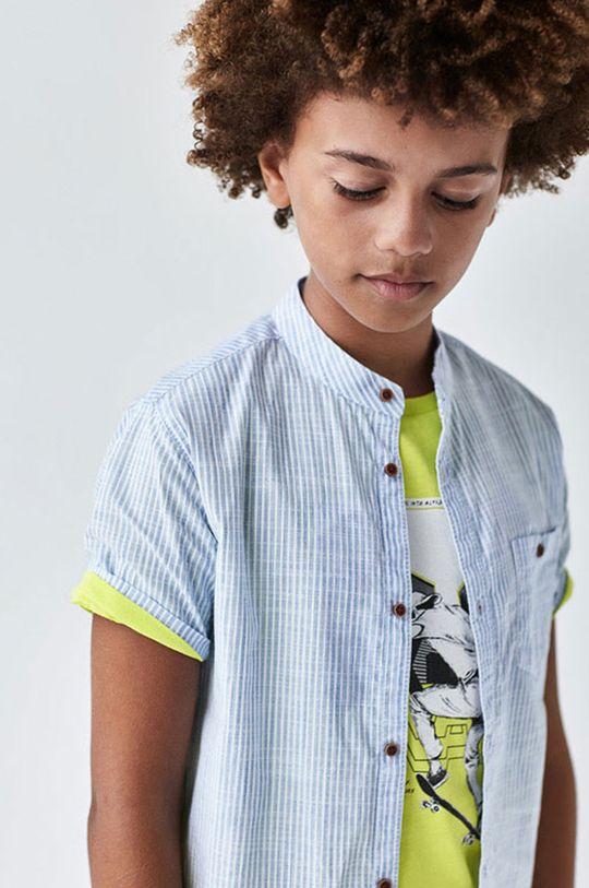 Mayoral - Koszula dziecięca 128-172 cm jasny niebieski