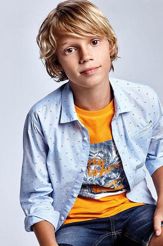 Mayoral - Koszula dziecięca blady niebieski