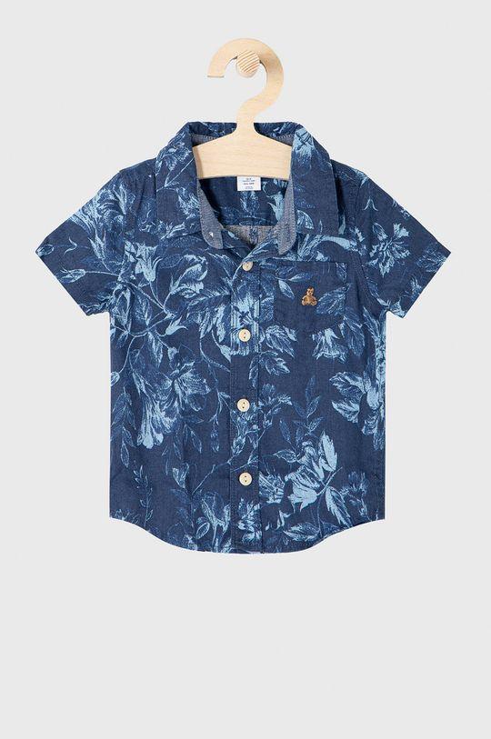 fioletowy GAP - Koszula dziecięca 50-86 cm Chłopięcy