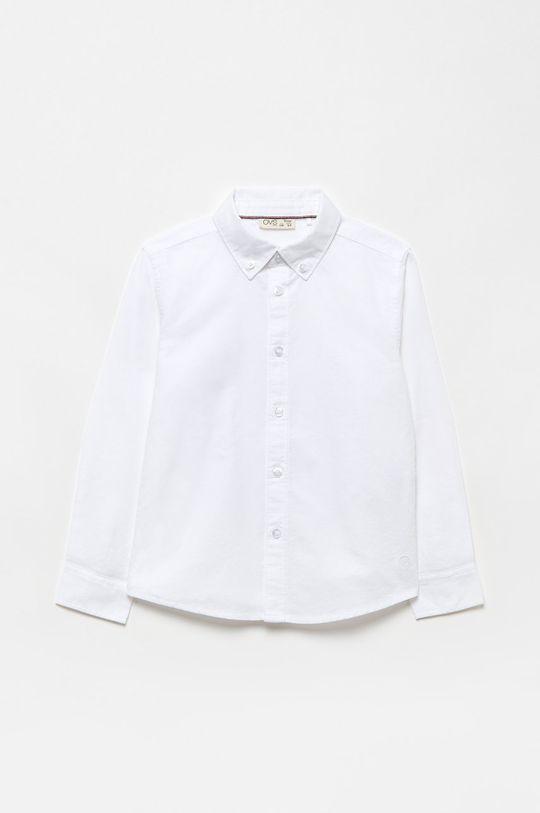biela OVS - Detská košeľa Chlapčenský