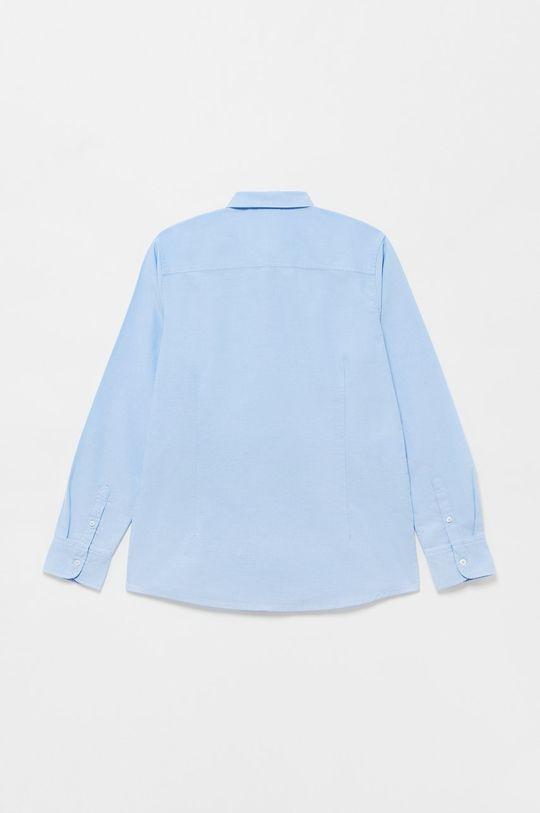 OVS - Koszula bawełniana dziecięca blady niebieski