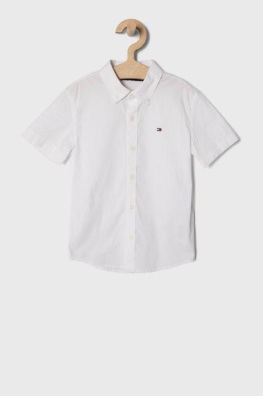 biały Tommy Hilfiger - Koszula dziecięca 104-176 cm Chłopięcy
