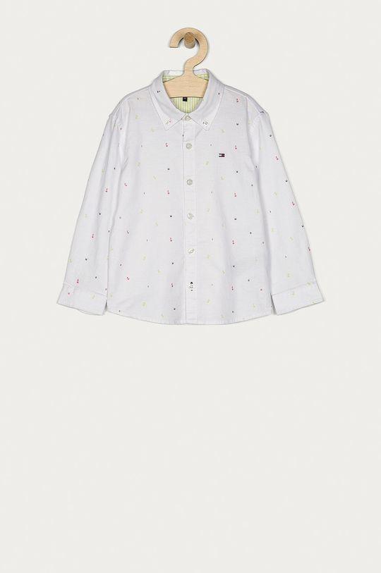 bílá Tommy Hilfiger - Dětská košile 104-176 cm Chlapecký