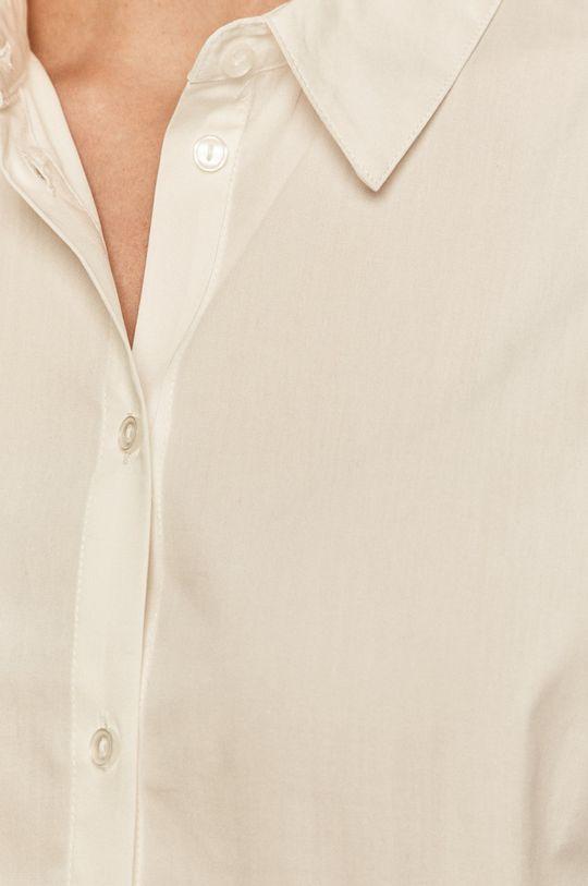 Vila - Koszula bawełniana biały