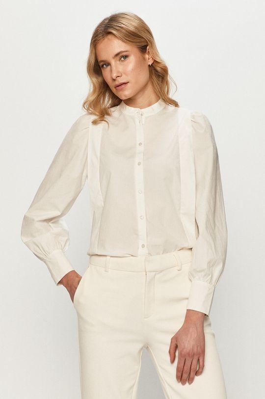biały Vero Moda - Koszula bawełniana Damski
