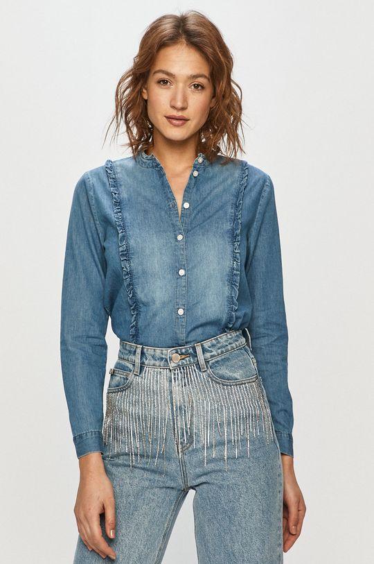modrá Jacqueline de Yong - Rifľová košeľa Dámsky