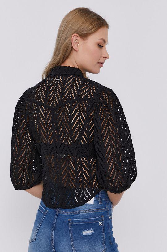 čierna Guess - Bavlnená košeľa