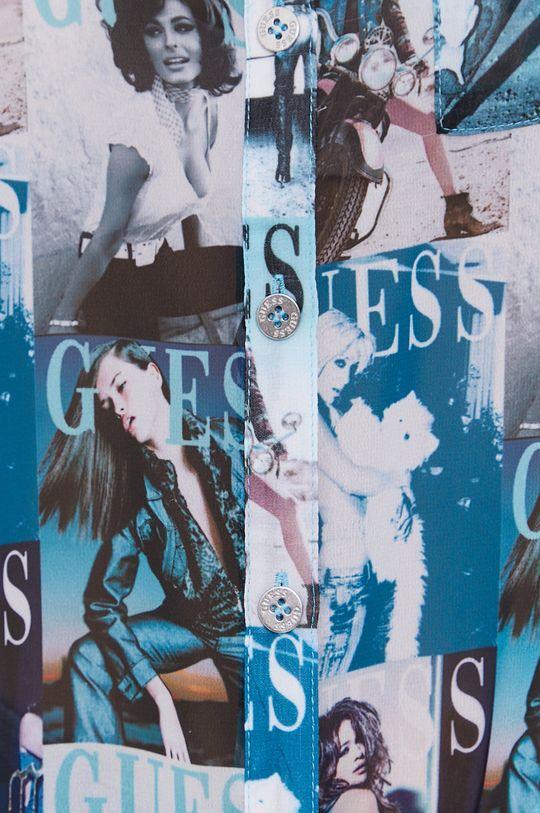 Guess - Košeľa svetlomodrá