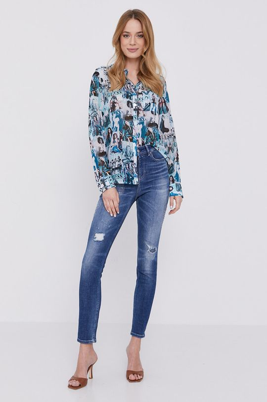 Guess - Košeľa  100% Polyester