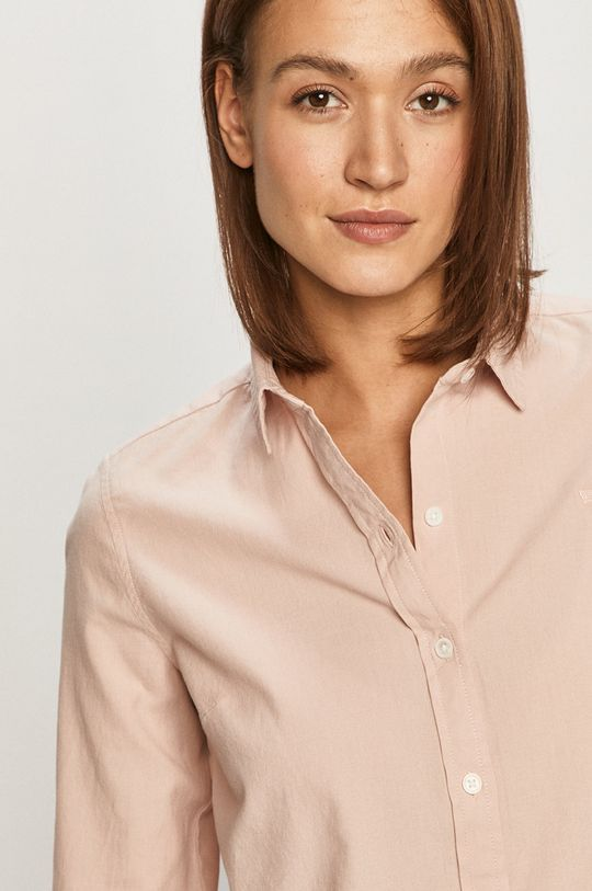 starorůžová Levi's - Bavlněné tričko