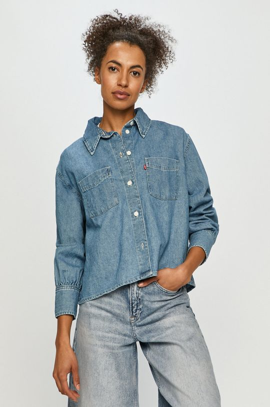 niebieski Levi's - Koszula jeansowa Damski