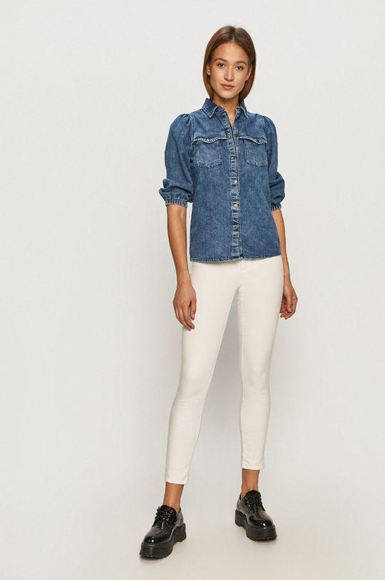 Noisy May - Koszula jeansowa niebieski
