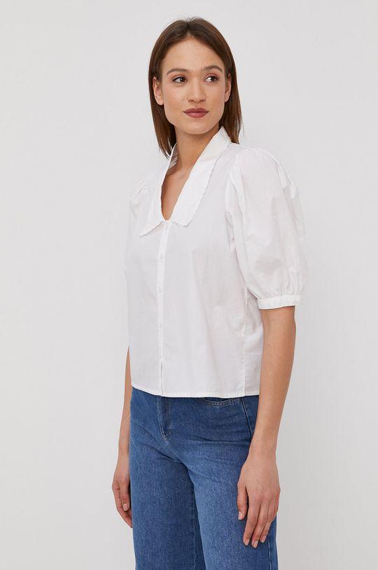 bílá Only - Bavlněná košile Dámský