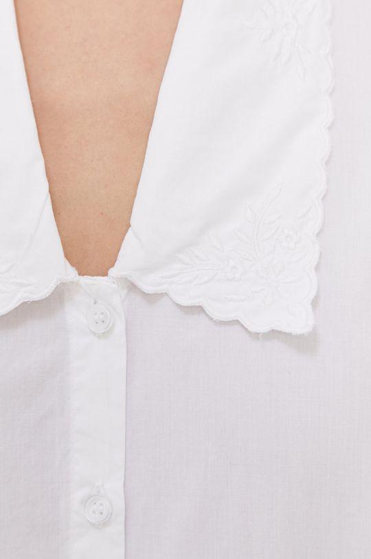 Only - Bavlněná košile bílá