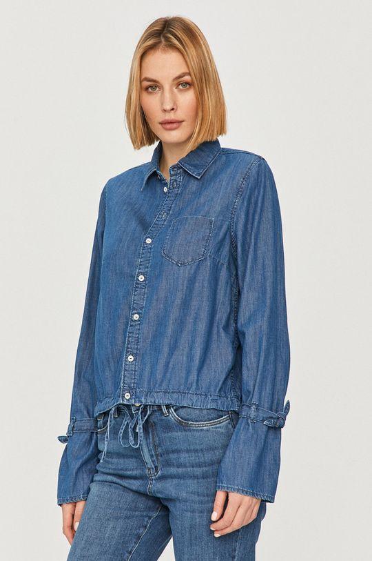 modrá Pepe Jeans - Košeľa Allison Dámsky
