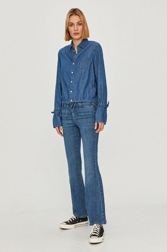 Pepe Jeans - Košeľa Allison modrá