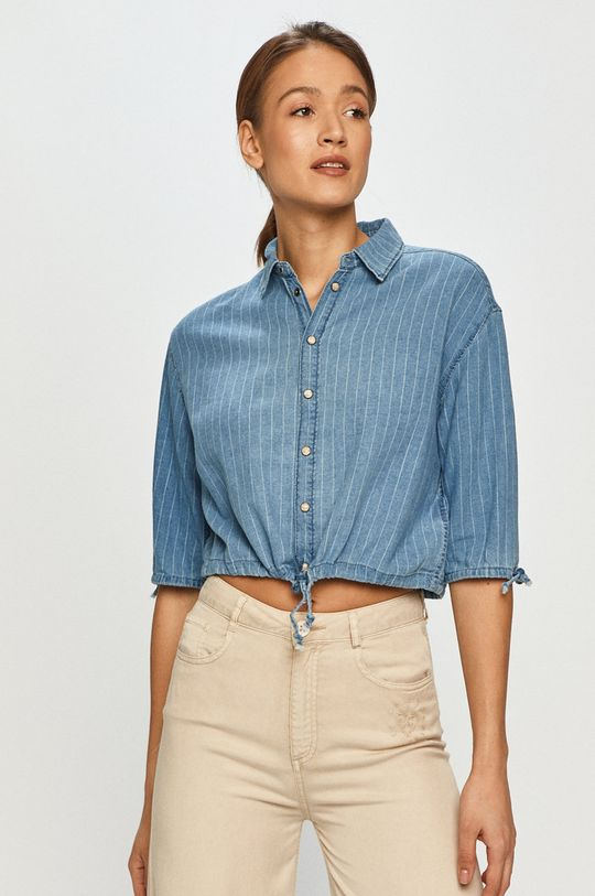niebieski Pepe Jeans - Koszula bawełniana Lux Damski