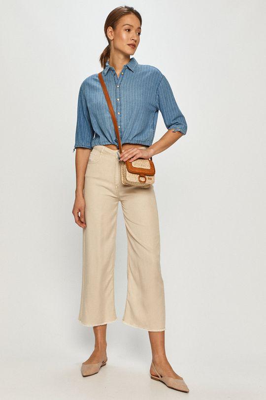 Pepe Jeans - Koszula bawełniana Lux niebieski