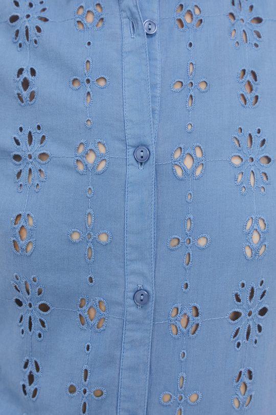 Pepe Jeans - Bavlnená košeľa Lara modrá