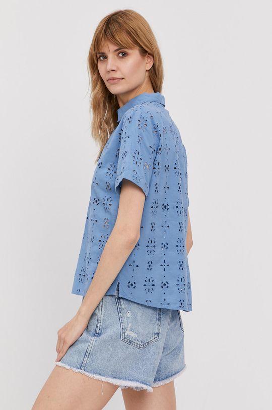modrá Pepe Jeans - Bavlnená košeľa Lara