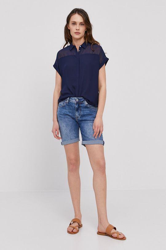 Pepe Jeans - Koszula Mina granatowy