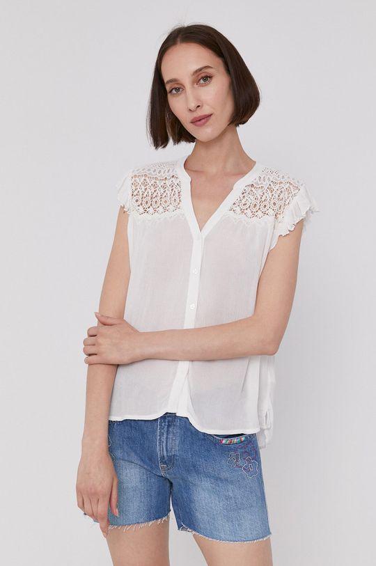 biały Pepe Jeans - Bluzka PIA Damski