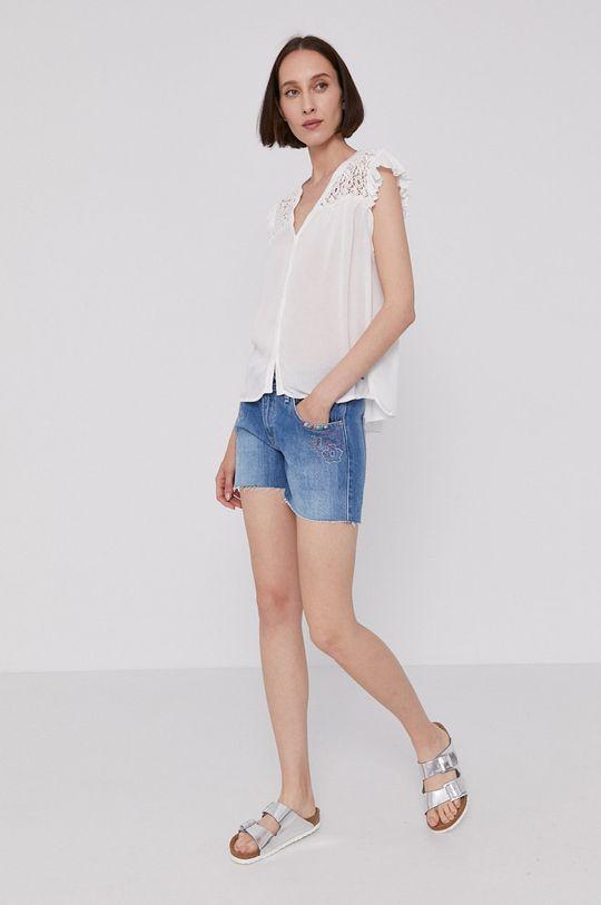 Pepe Jeans - Bluzka PIA biały