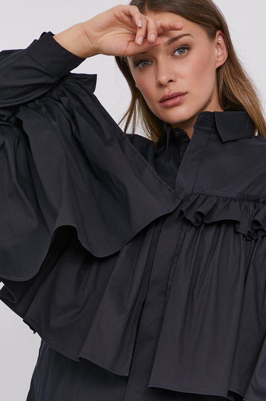 czarny Red Valentino - Koszula Damski
