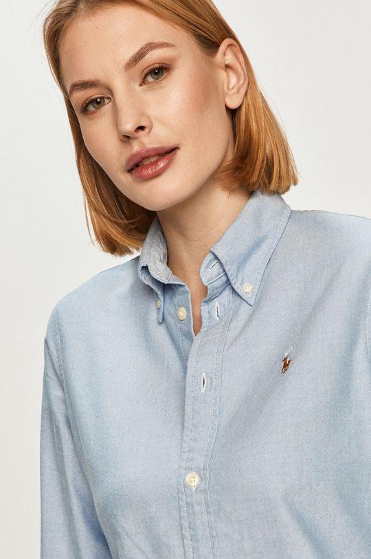 jasny niebieski Polo Ralph Lauren - Koszula bawełniana Damski