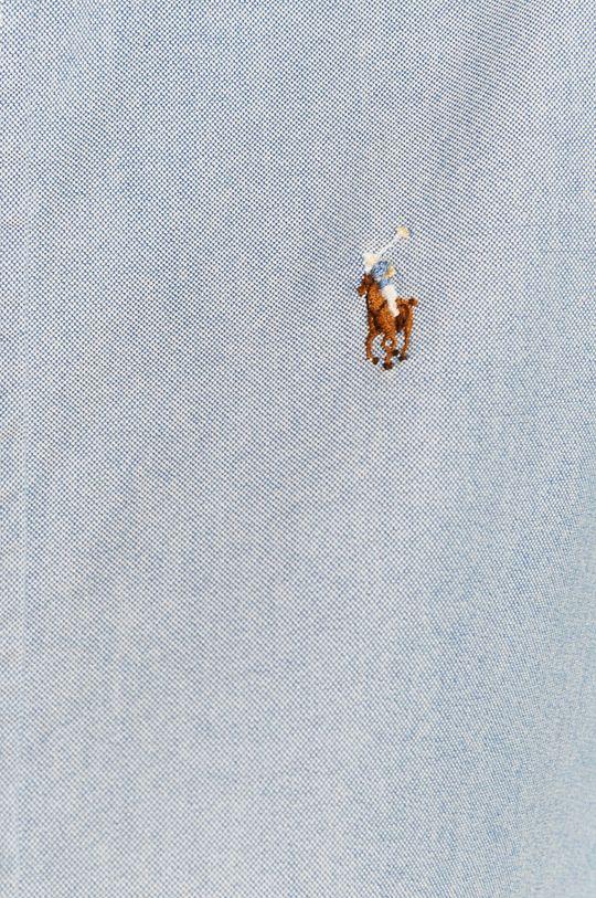 Polo Ralph Lauren - Koszula bawełniana jasny niebieski