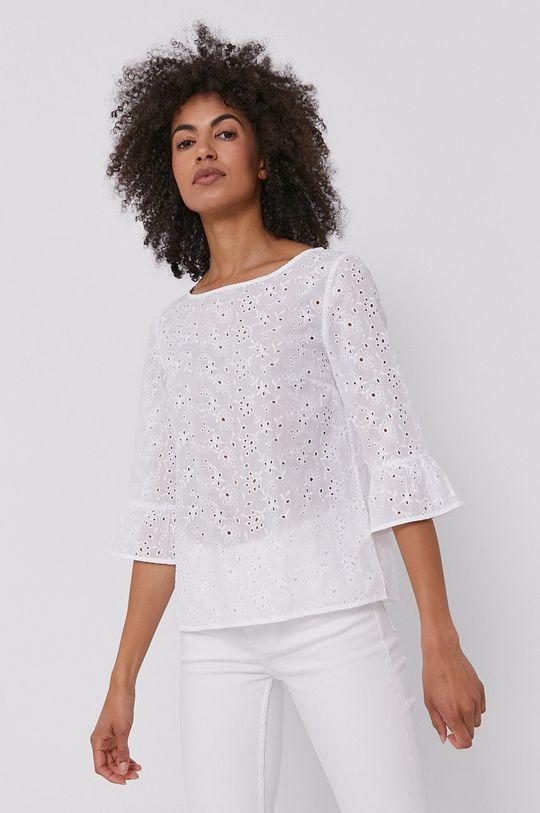 biały Pennyblack - Bluzka bawełniana Damski