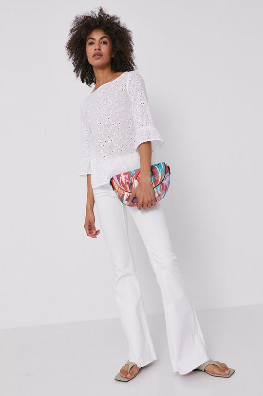 Pennyblack - Bluzka bawełniana biały